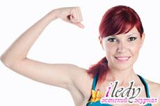 Как быстро убрать жир с рук - эффективные упражнения
