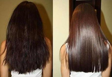 Как сделать блестящие волосы в домашних условиях