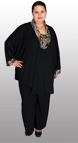 Одежда Для Полных Женщин Китай