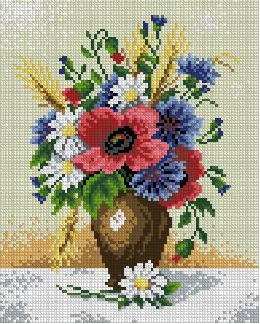 Для вышивки крестом цветы натюрморты